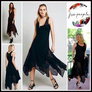FREE PEOPLE INTIMATELY Lila Maxi Slip Lace Dress L